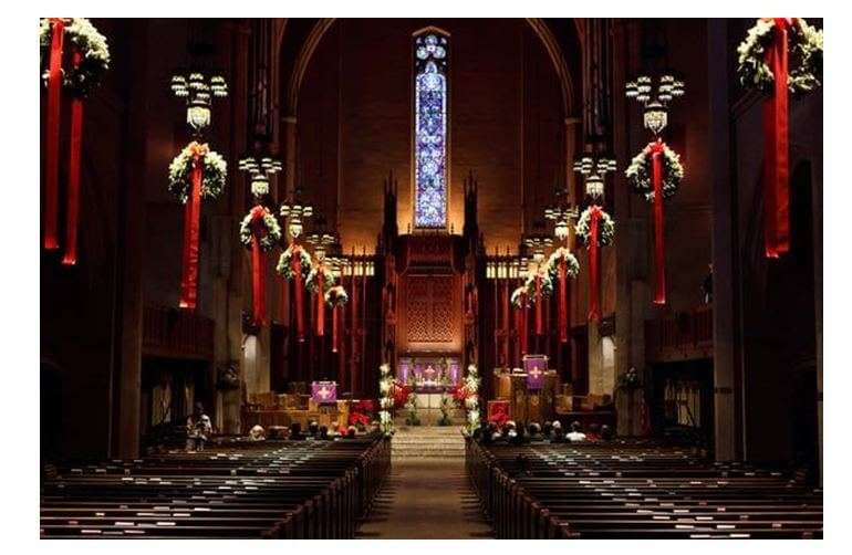 Designing replica of Christmas celebration in Church at home